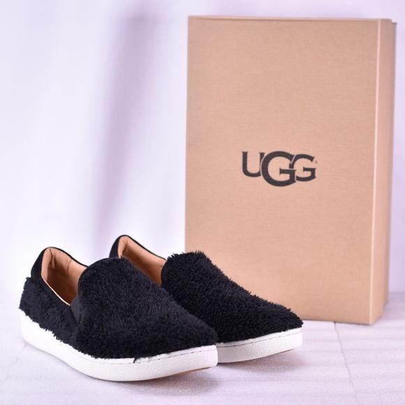 Womens Ugg Ricci Slipon Sneaker Black
